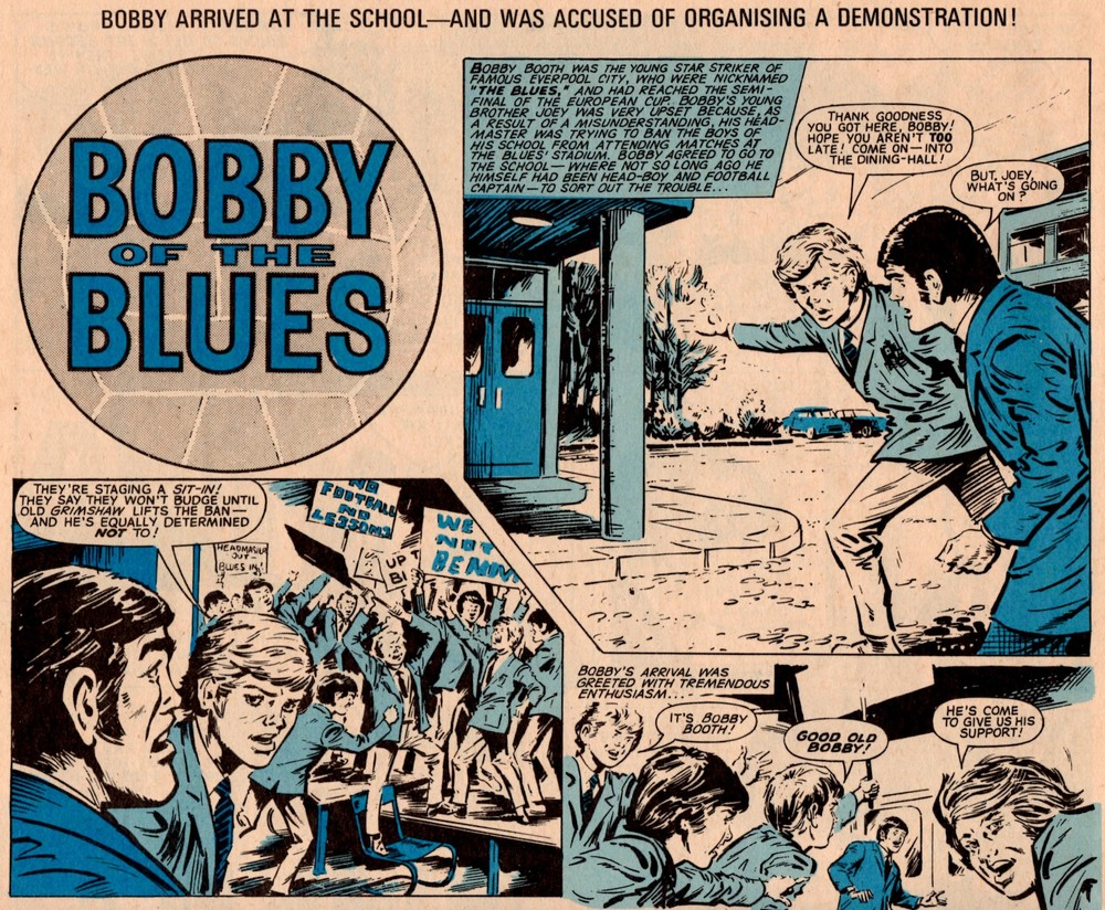 Bobby of the Blues: Tony Harding (artist)