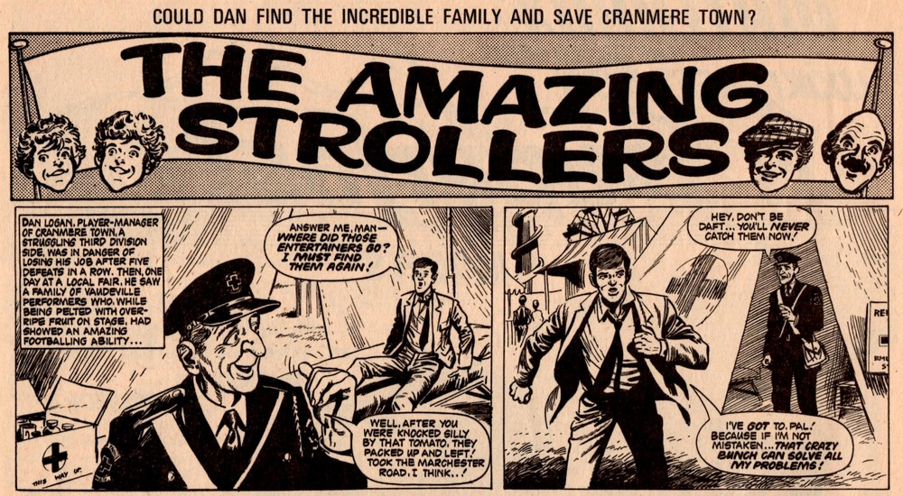 The Amazing Strollers: Scott Goodall (writer), John Stokes? (artist)