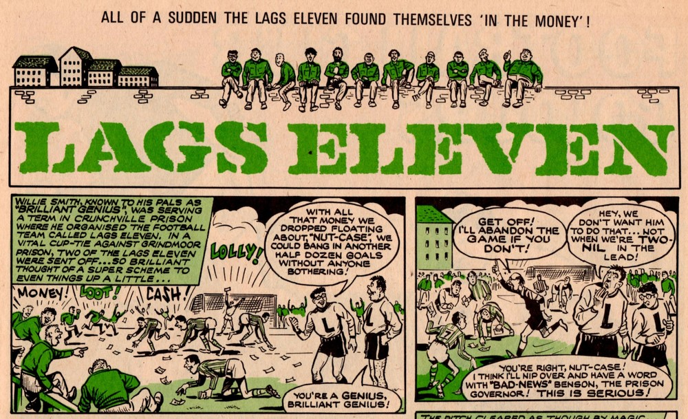 Lags Eleven: Fred Baker (writer), Doug Maxted (artist)