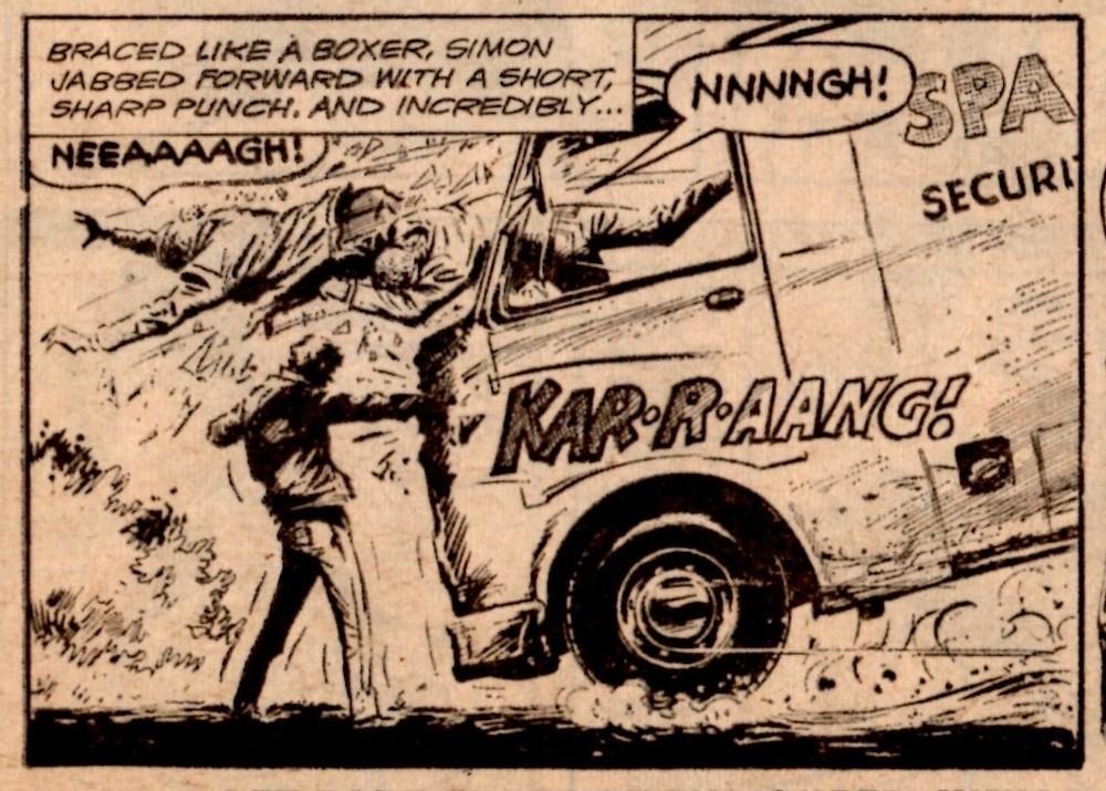 Sergeant Strong: Eric Bradbury (artist)