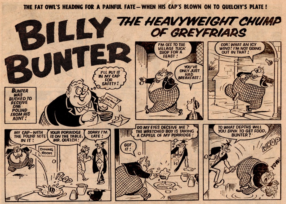 Billy Bunter: Reg Parlett (artist)