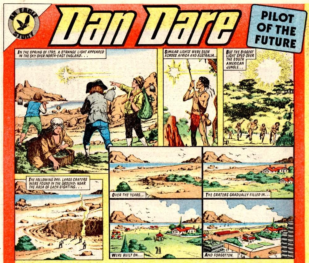 Dan Dare: Barrie Tomlinson (writer), Carlos Cruz (artist)