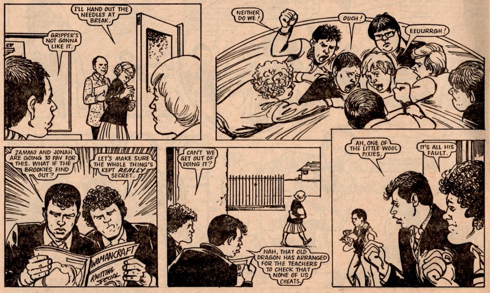 Grange Hill Juniors: Brian Delaney (artist)