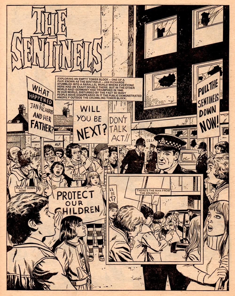 The Sentinels: Malcolm Shaw (writer), Mario Capaldi (artist)