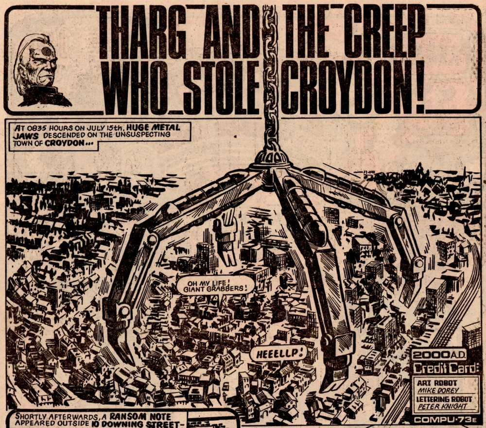 Tharg and the Creep Who Stole Croydon: Mike Dorey (artist)