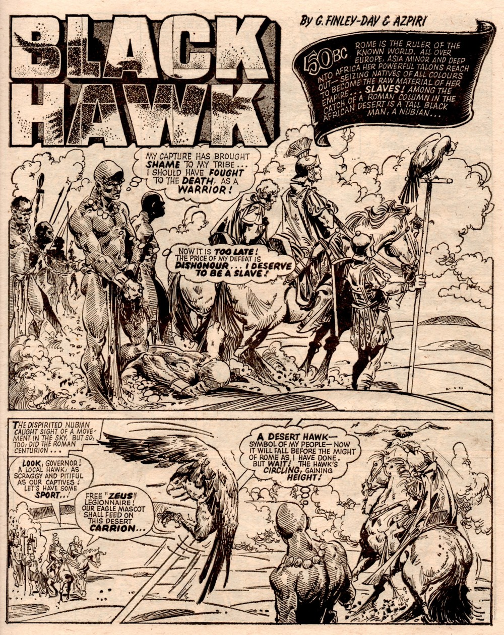 Black Hawk: Gerry Finley-Day (writer), Alfonso Azpiri (artist)