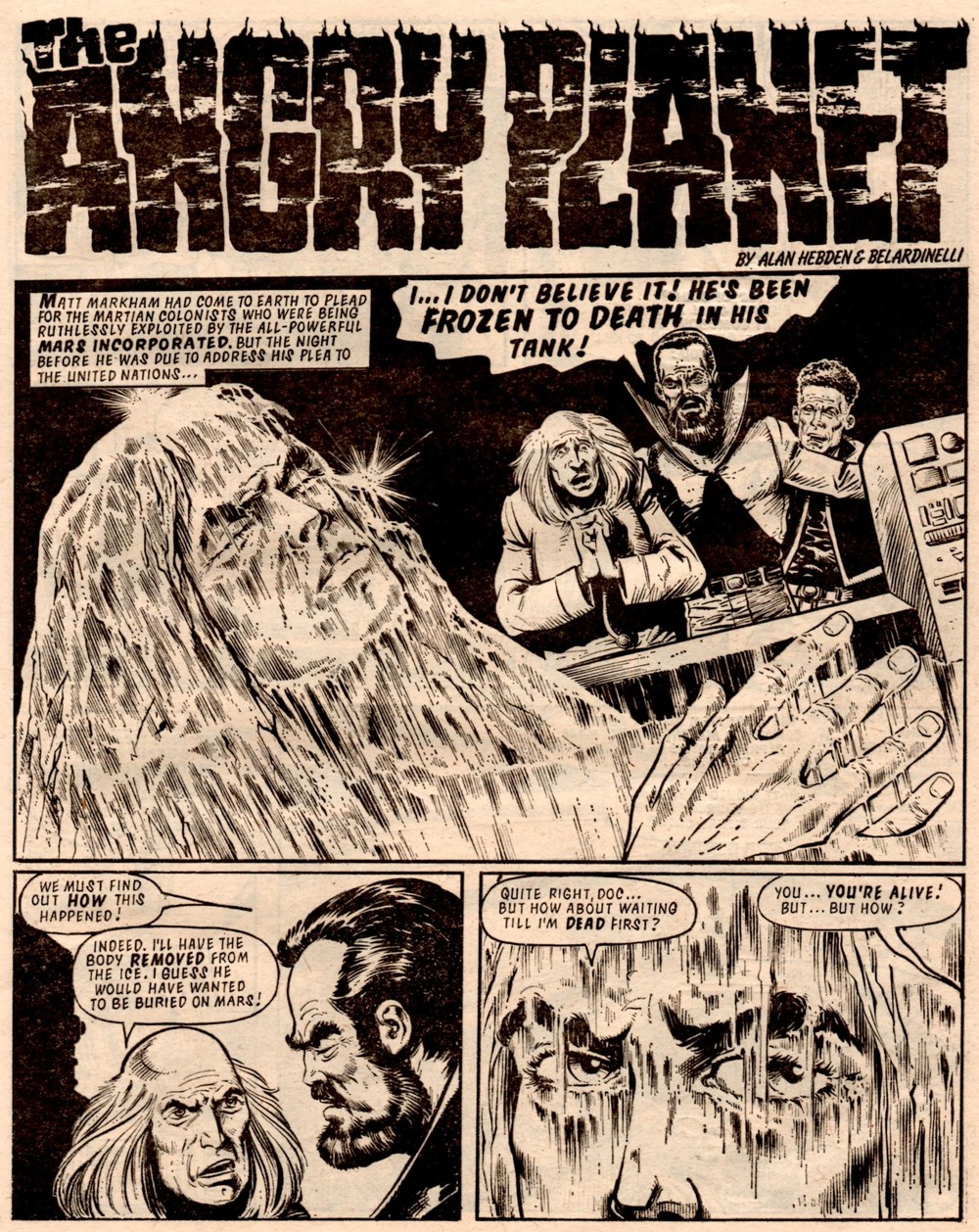The Angry Planet: Alan Hebden (writer), Massimo Belardinelli (artist)