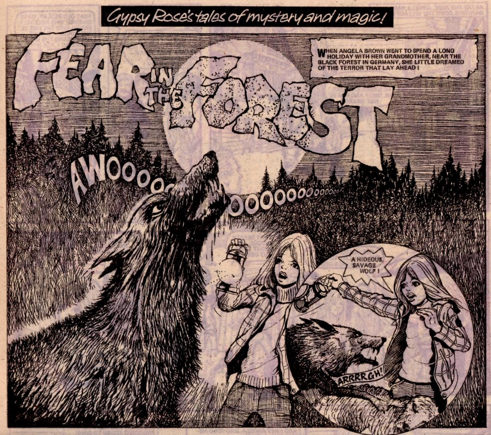 Gypsy Rose's Tales of Mystery and Magic: Fear in the Forest: Keith Robson (artist)