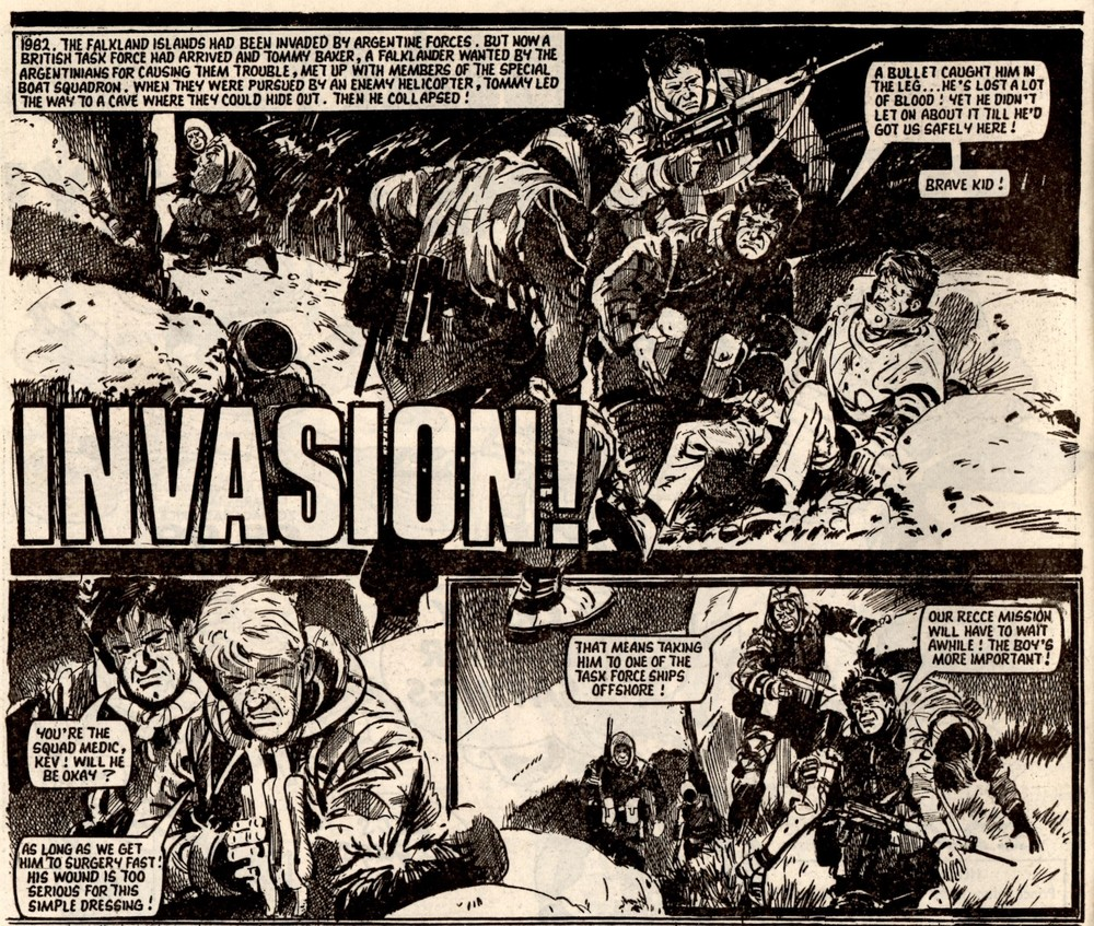 Invasion!: Terry Magee (writer )Jim Watson (artist)