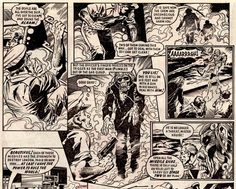 Storm Force: James Nicholas (writer), Eduardo Vanyo (artist)