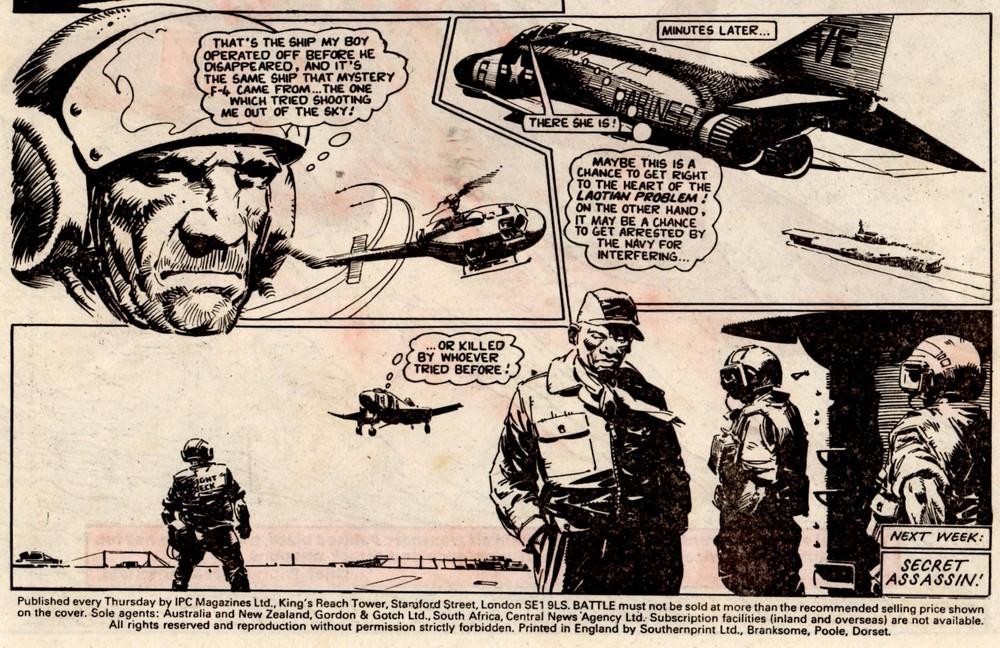 Fighting Mann: Alan Hebden (writer), Cam Kennedy (artist)