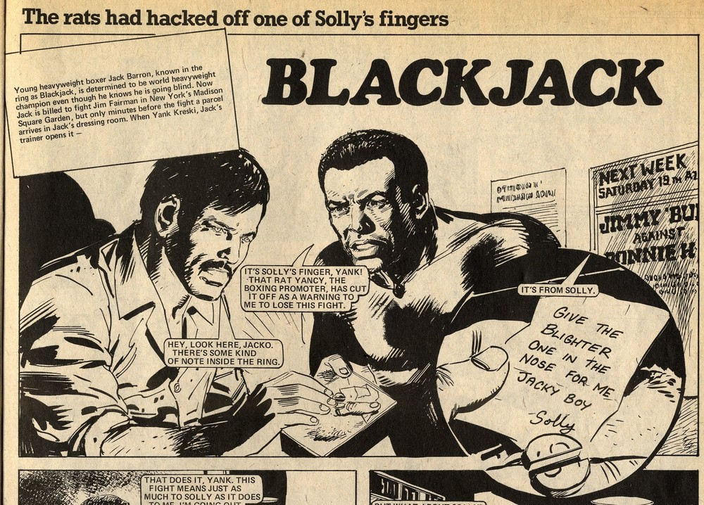 Blackjack: John Wagner (writer), Trigo (artist)
