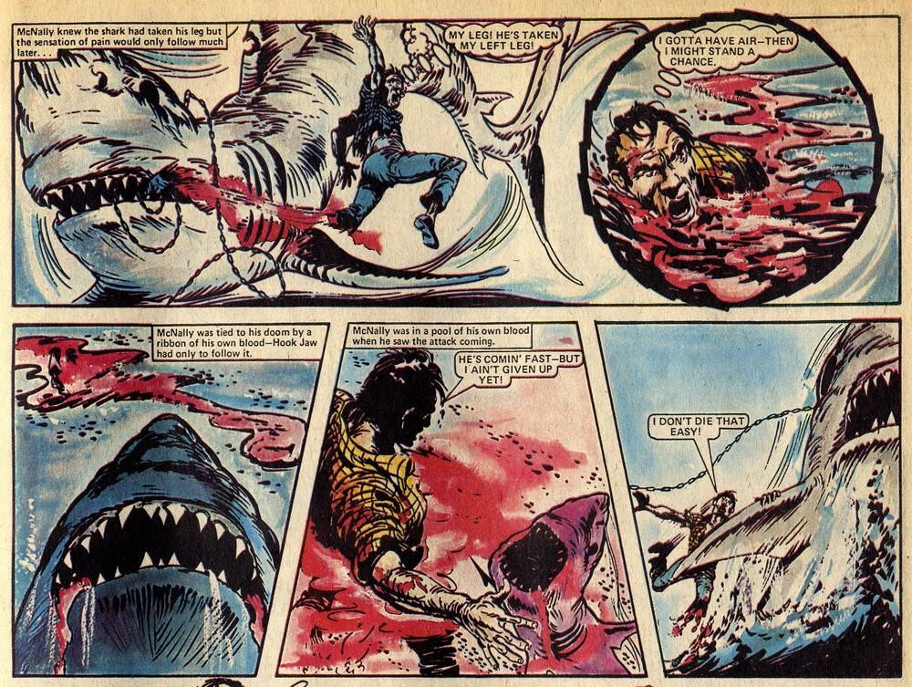 Hook Jaw:Ken Armstrong (writer), Ramon Sola (artist)