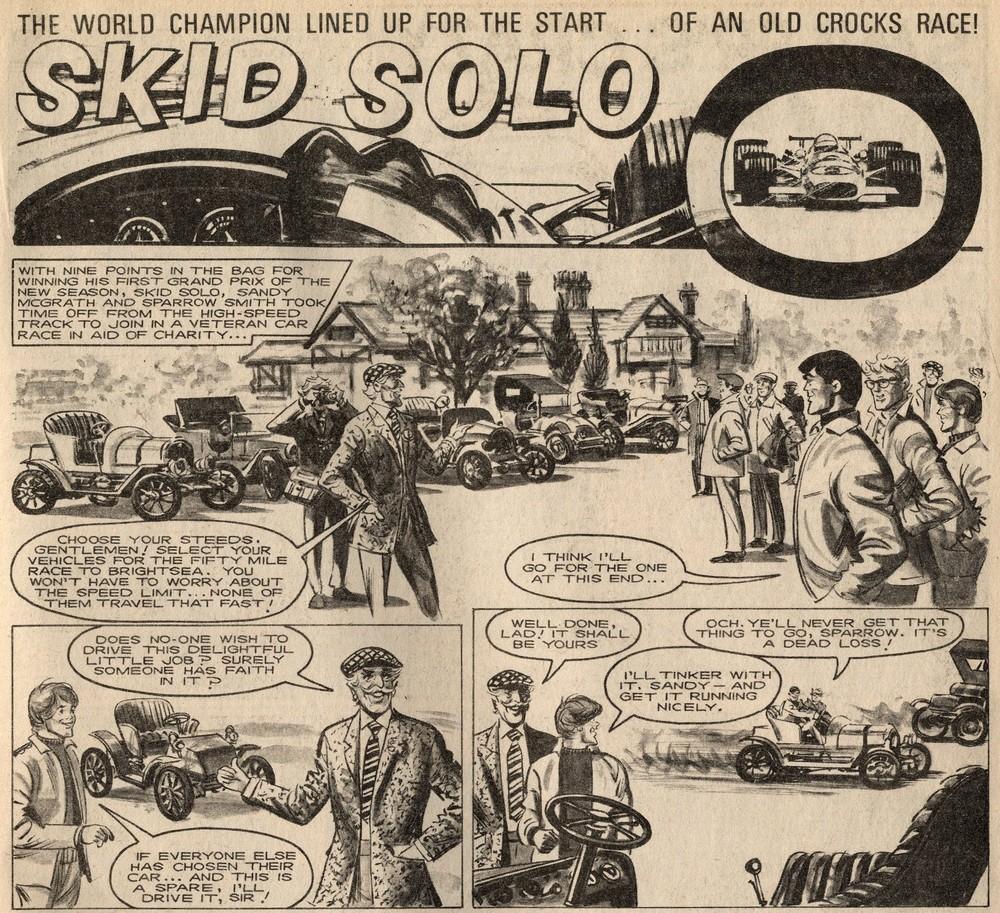 Skid Solo: Fred Baker (writer), John Vernon (artist)