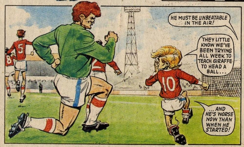 Football Family Robinson: Fred Baker (writer), John Gillatt (artist)