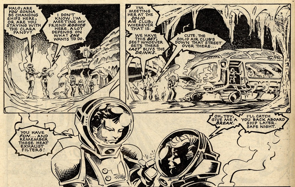 The Ballad of Halo Jones: Alan Moore (writer), Ian Gibson (artist)