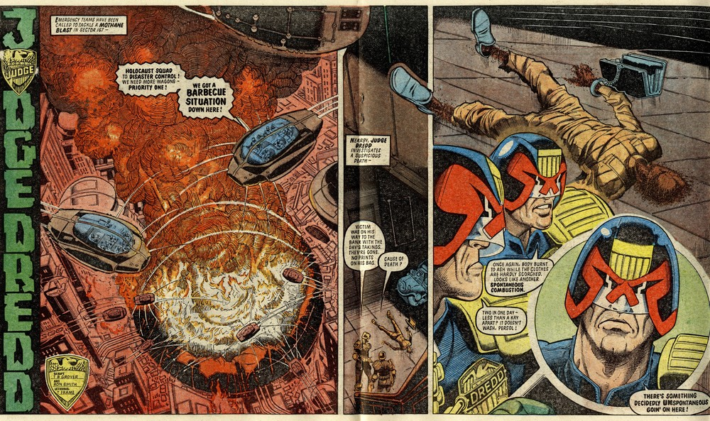 Judge Dredd: John Wagner (writer), Ron Smith (artist)