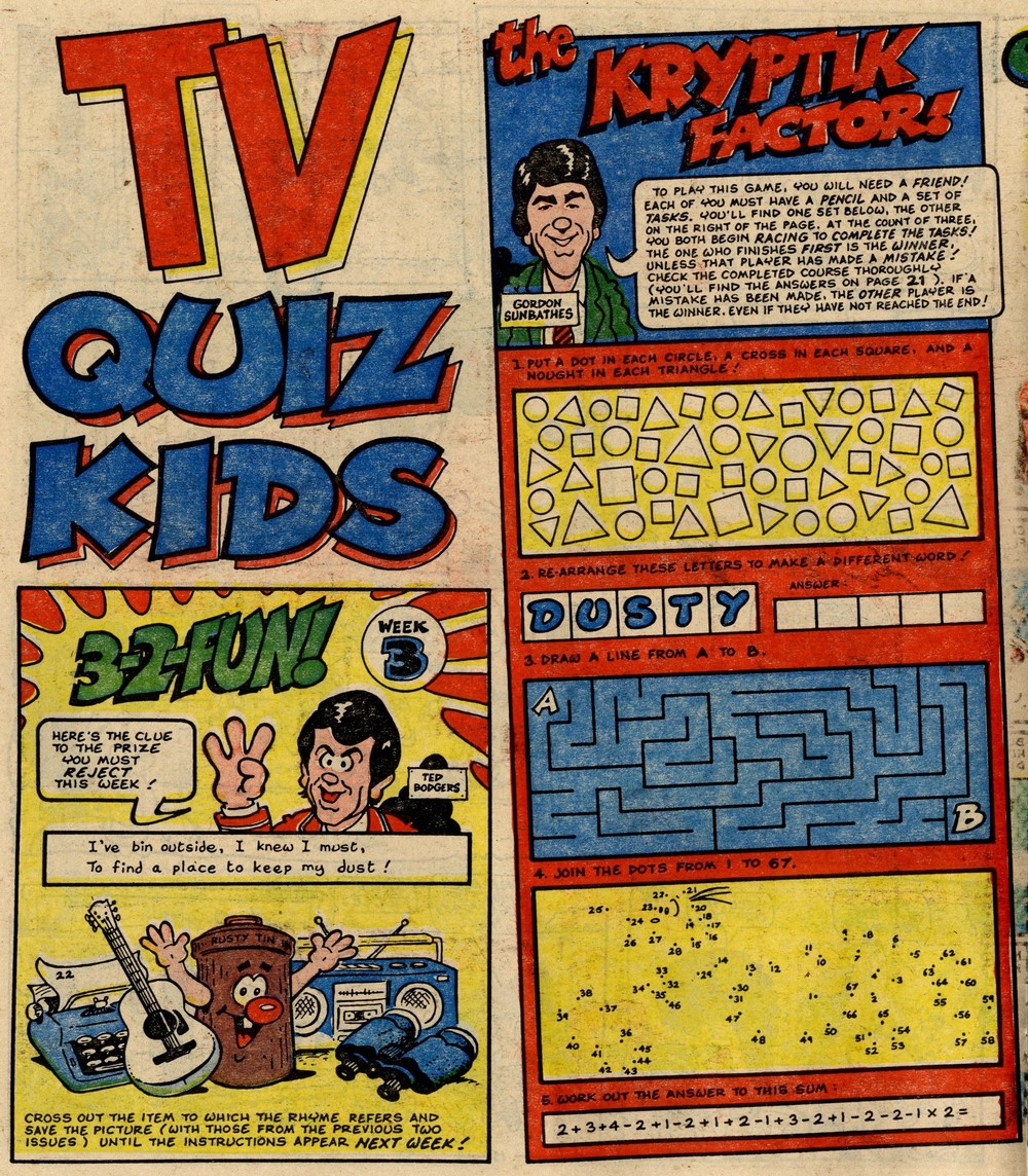 TV Quiz Kids: Jack Edward Oliver (artist)