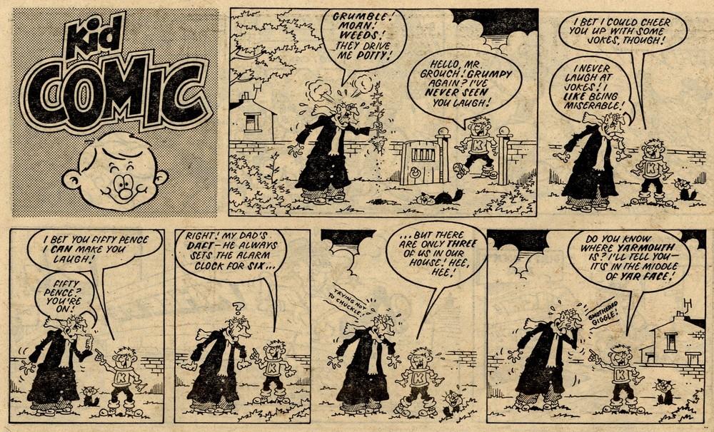 Kid Comic: Martin Baxendale (artist)