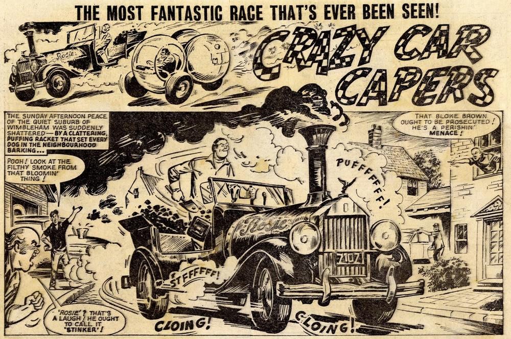 Crazy Car Capers: Solano Lopez (artist)