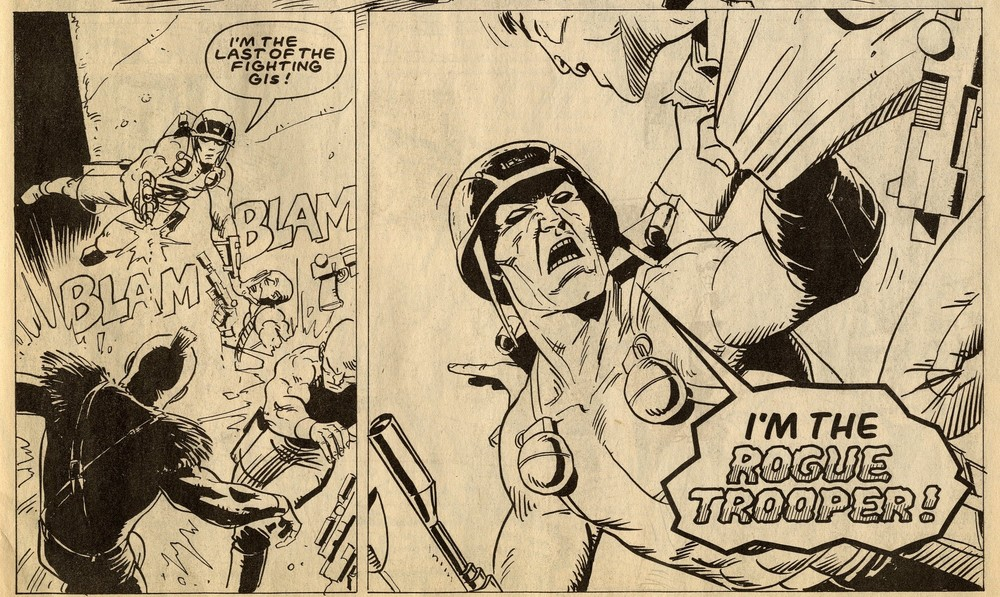 Rogue Trooper: Simon Geller (writer), Steve Dillon (artist)