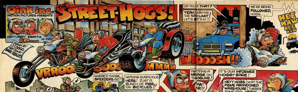 The Street-hogs!: Mark Rodgers (writer), Malcolm Douglas (artist)