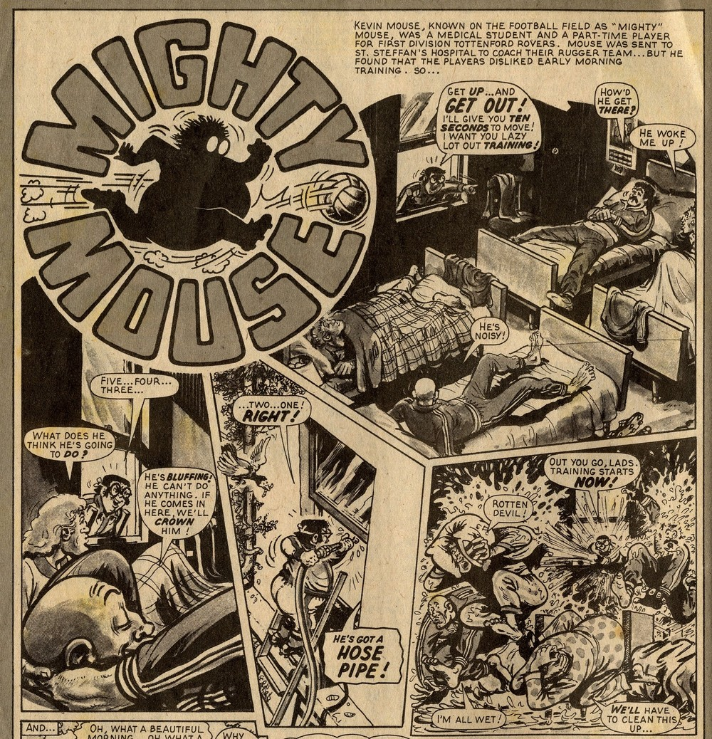 Mighty Mouse: Fred Baker (writer), Julio Shiaffino (artist)