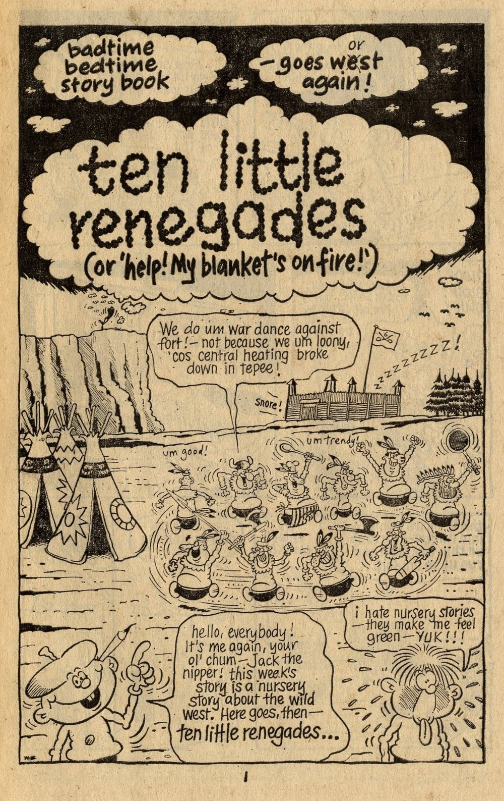 Badtime Bedtime Storybook: Ten Little Renegades: Mike Brown (artist)