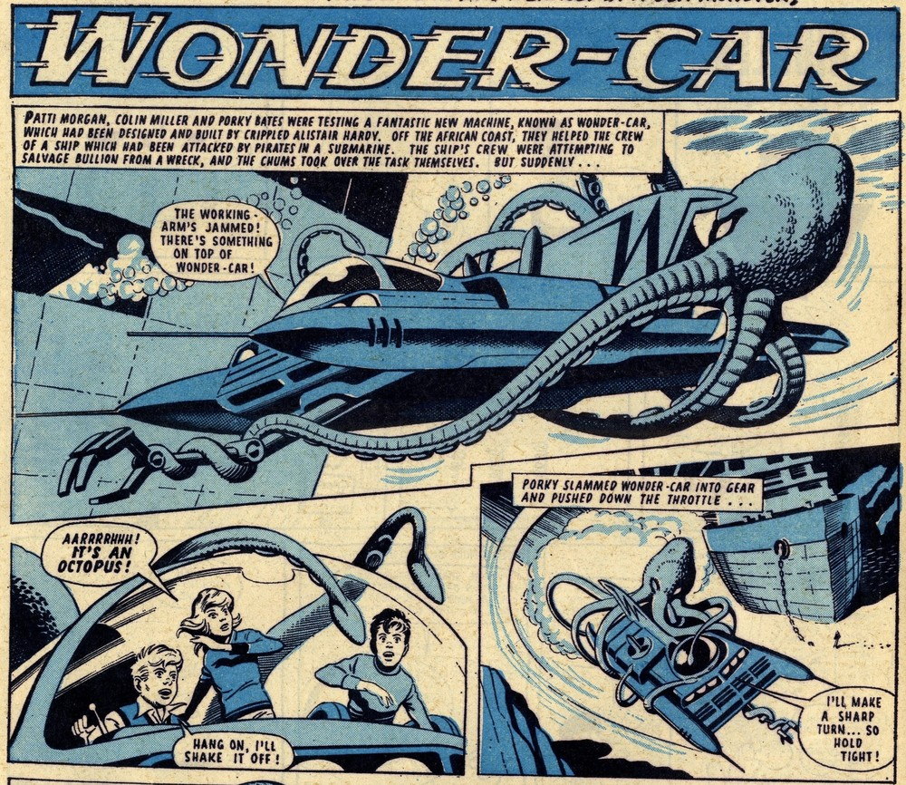 Wonder-Car: Ron Turner (artist)
