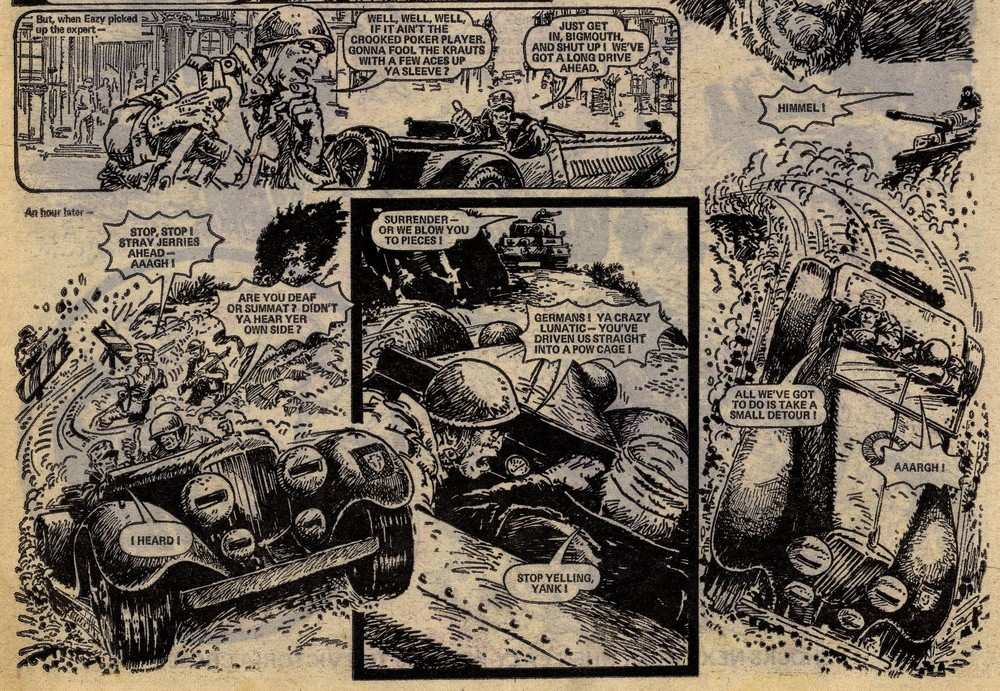 Major Eazy: Alan Hebden (writer), Carlos Ezquerra (artist)
