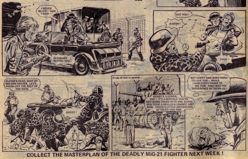 D-Day Dawson: Gerry Finley-Day (writer), Joe Colquhoun? (artist)