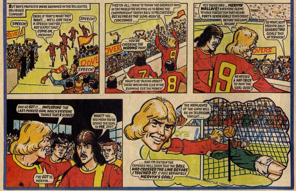 Roy of the Rovers: Tom Tully (writer), David Sque (artist)