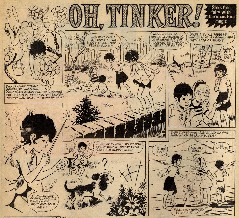 Oh, Tinker!: Trini Tinturé (artist)