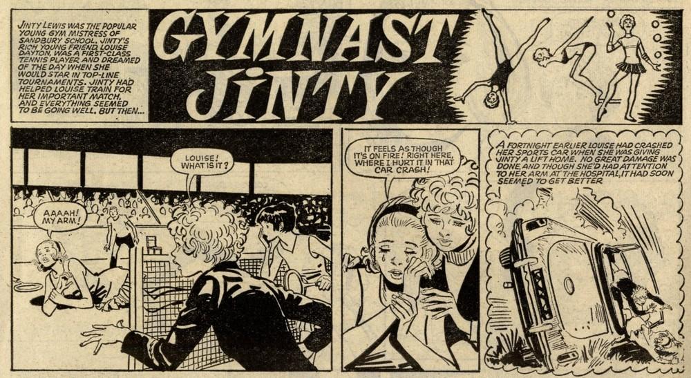 Gymnast Jinty: Jim Baikie (artist)