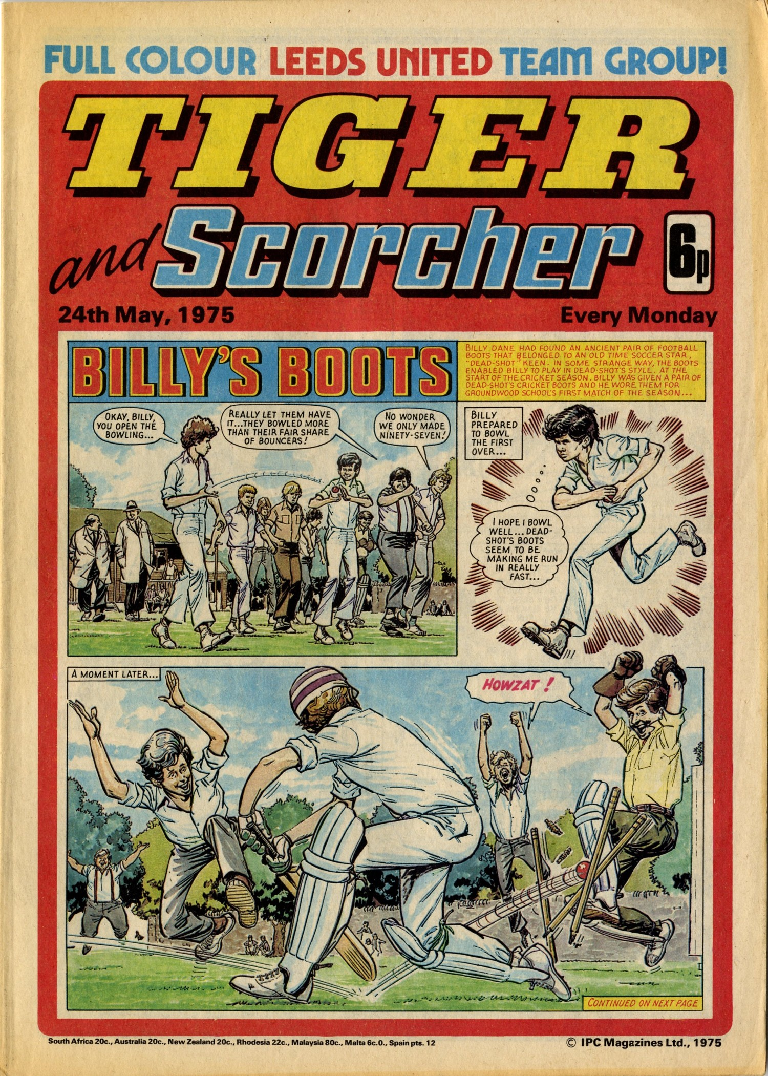 On this day, 24 May 1975: Tiger and Scorcher — GREAT NEWS