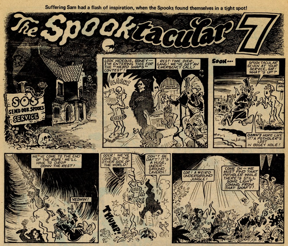 The Spooktacular 7: Brian Walker (artist)