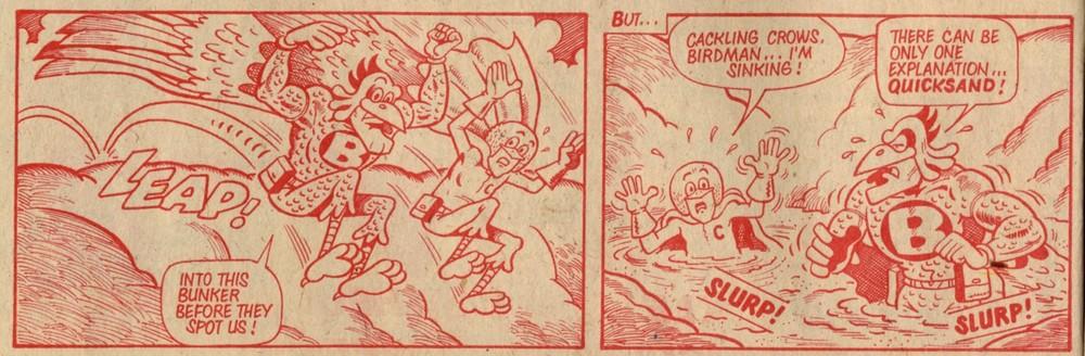 Birdman and Chicken: Trevor Metcalfe (artist)