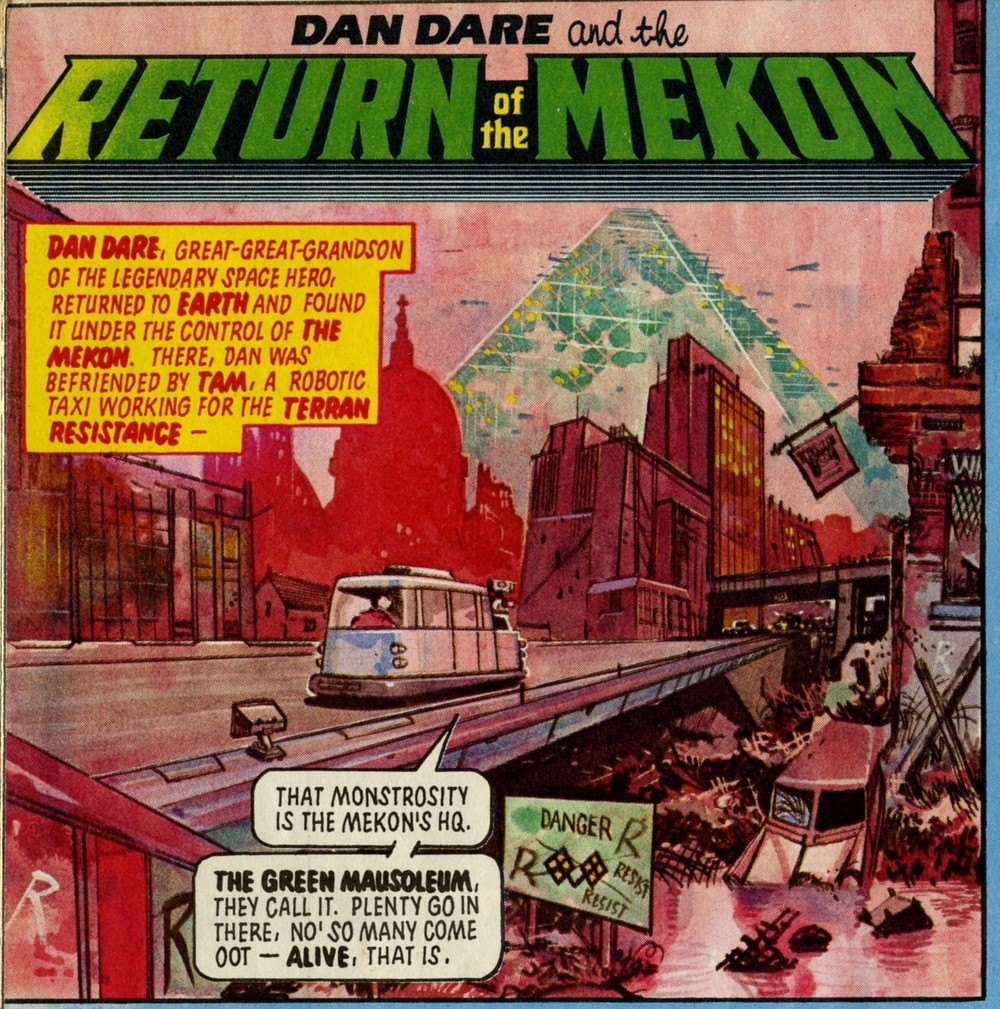 Dan Dare: John Wagner and Pat Mills (writers), Gerry Embelton (artist)