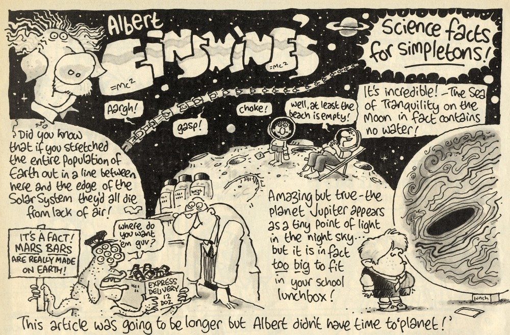 Albert Einswine's Science Facts for Simpletons: Ian Jackson (artist)