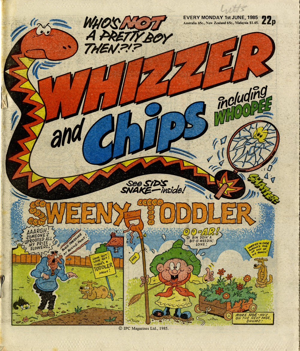 Cover artwork: Tom Paterson (Sweeny Toddler)