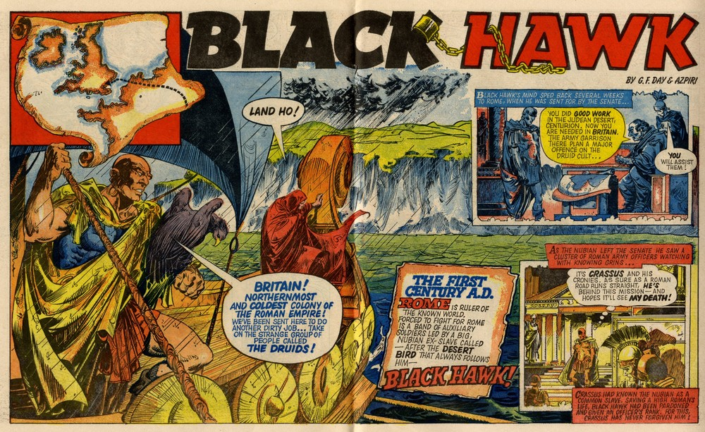 Black Hawk: Gerry Finley-Day (writer), Azpiri (artist)
