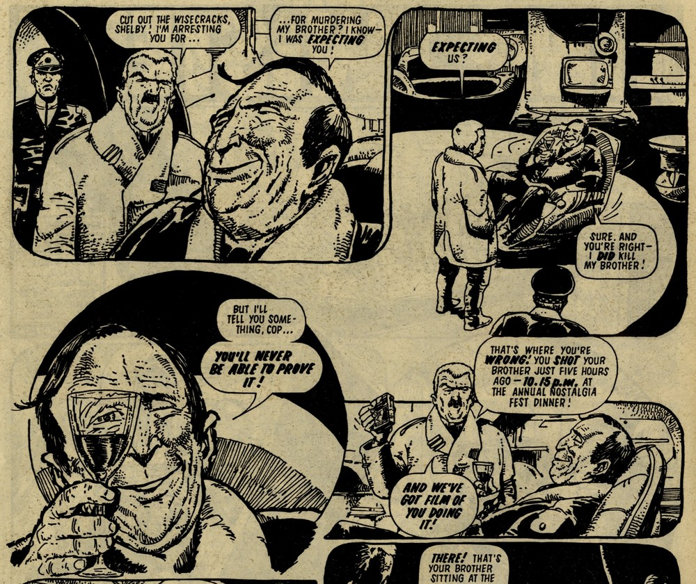 Tharg's Time Twisters: The Impossible Murder: Chris Lowder (writer), Carlos Ezquerra (artist)
