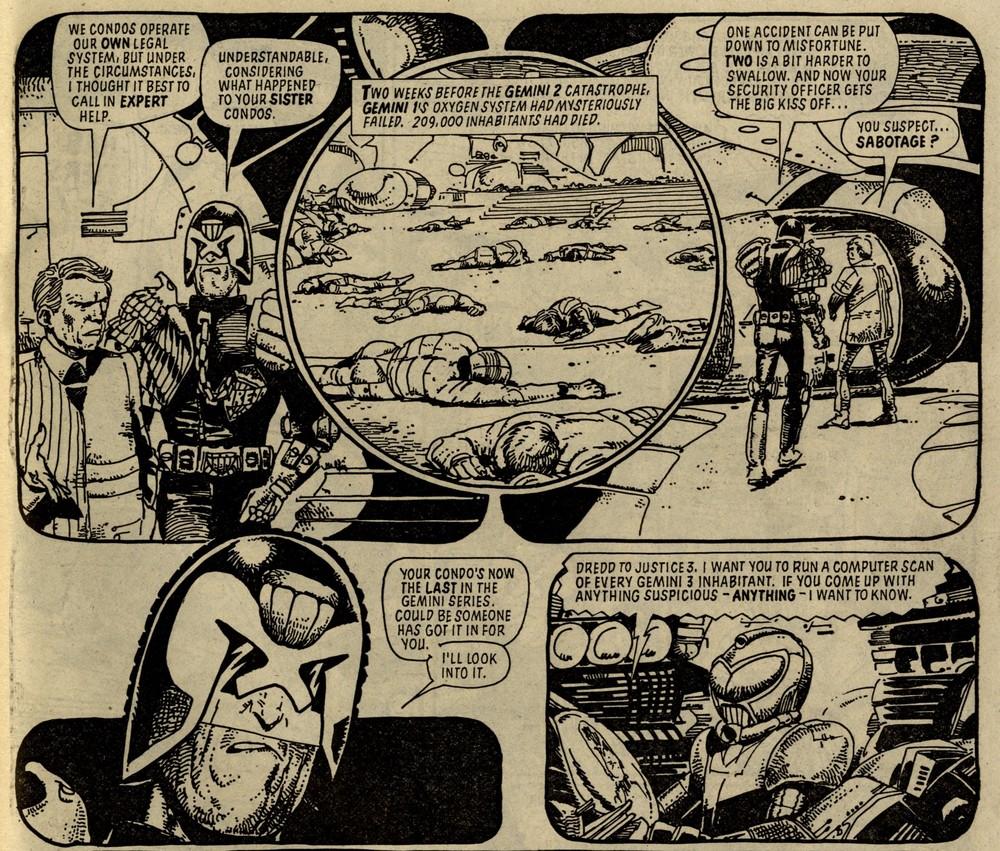 Judge Dredd: Condo: John Wagner (writer), Carlos Ezquerra (artist)