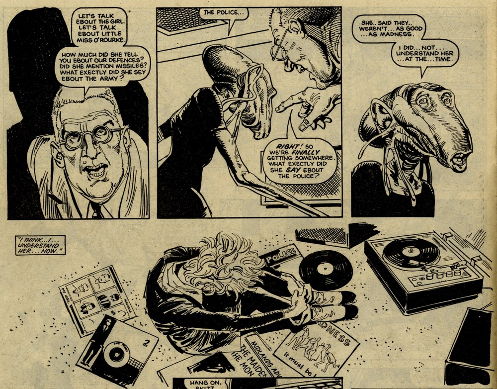 Skizz: Alan Moore (writer), Jim Baikie (artist)