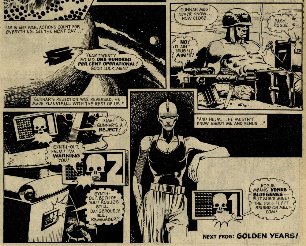 Rogue Trooper: Milli-Com Memories: Gerry Finley-Day (writer), Cam Kennedy (artist)