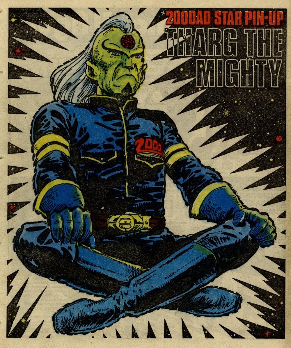 Poster artwork: Carlos Ezquerra