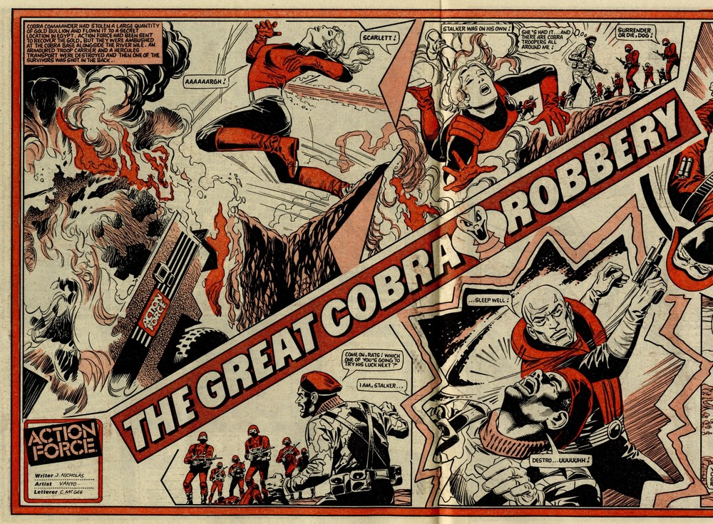 Action force: The Great Cobra Robbery: James Nicholas (writer), Eduardo Vanyo (artist)