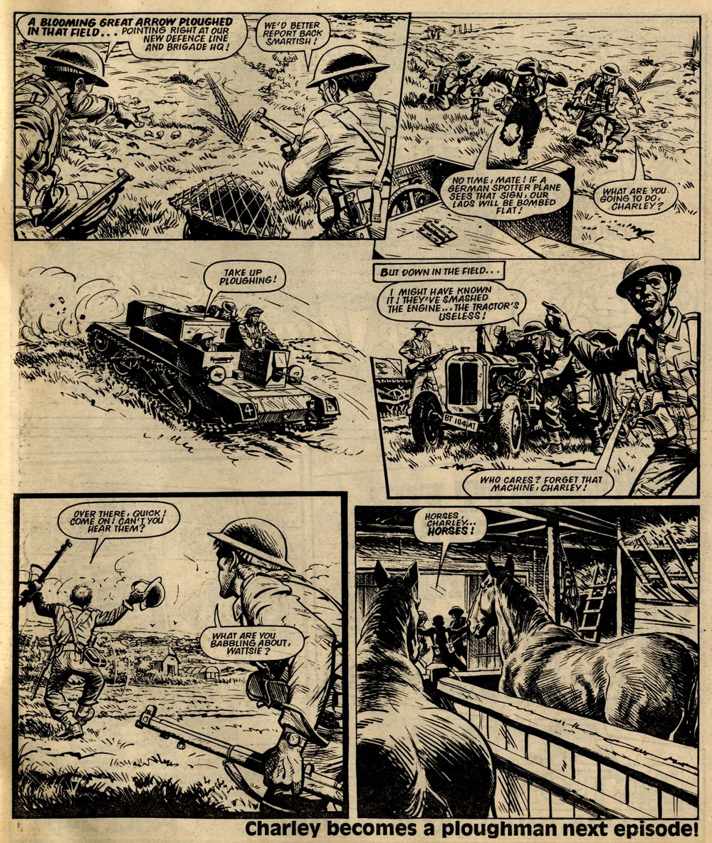 Charley's War: Scott Goodall (writer), Joe Colquhoun (artist)