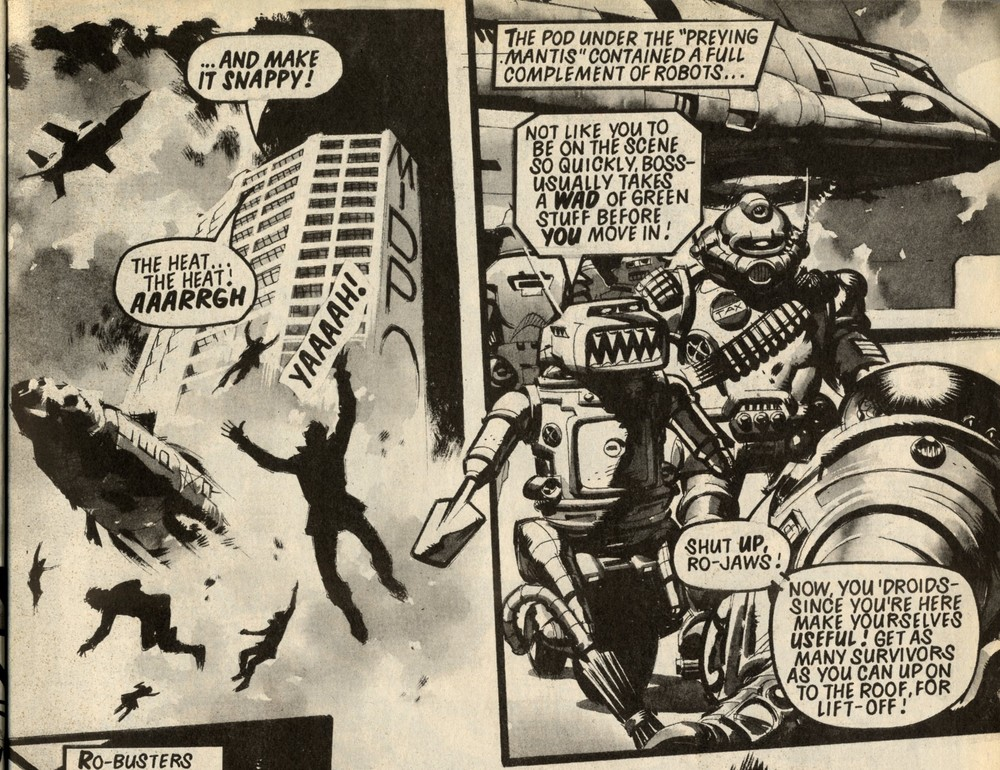 Ro-busters: Chris Lowder (writer), Ian Kennedy (artist)