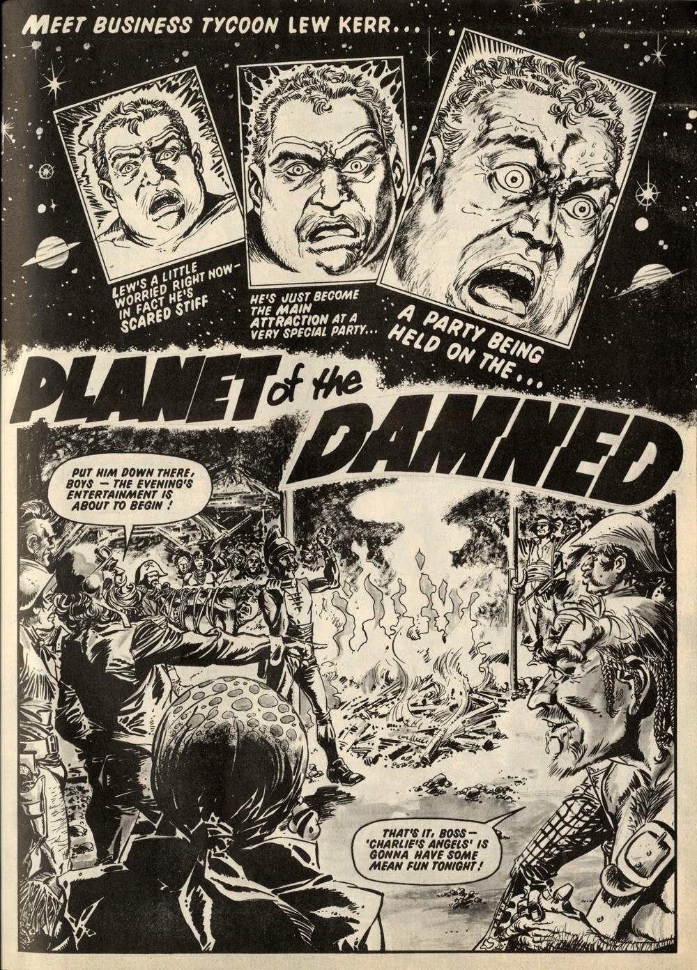Planet of the Damned: Pat Mills (writer), Peña (artist)